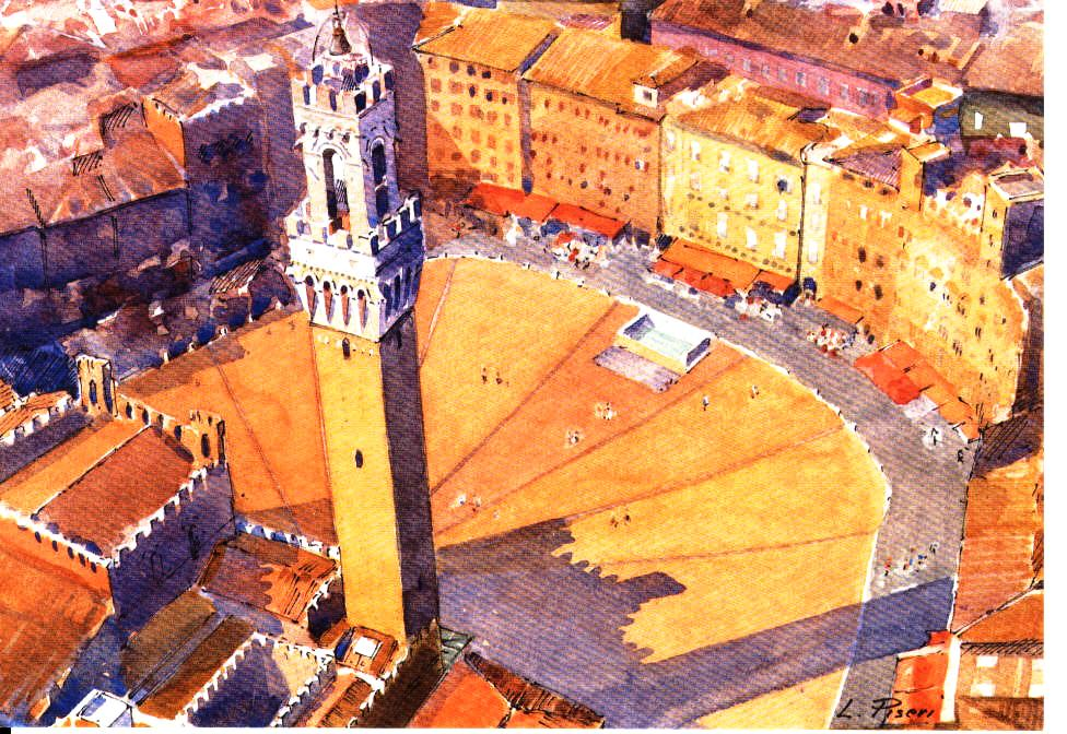 Siena Piazza 4 เมืองเล็กเล็กแต่ความสวยสุดยิ่งใหญ่ ที่ควรไปเยือนสักครั้งในชีวิต