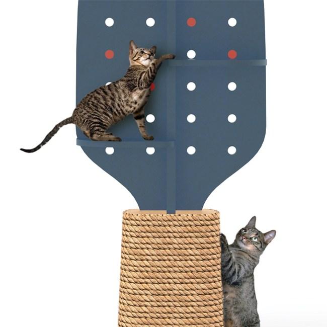 9Lives CatFurniture 10 750x750 ทาสแมวต้องร้องว้าว งานแสดงเฟอร์นิเจอร์สำหรับแมวโดยเฉพาะ