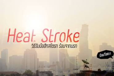"""รู้รอดปลอดภัย """"ฮีทสโตรก"""" (Heat Stroke) โรคลมแดดที่มาพร้อมอากาศร้อน 17 - healthy"""