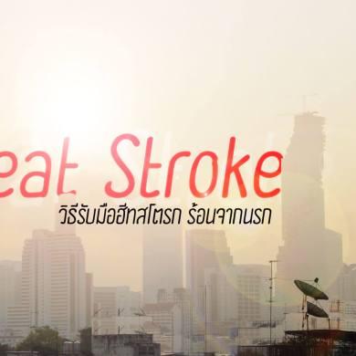 """รู้รอดปลอดภัย """"ฮีทสโตรก"""" (Heat Stroke) โรคลมแดดที่มาพร้อมอากาศร้อน 22 - Global Warming"""