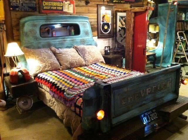 the coolest classic pickup truck bed you will ever see. 3350043641 14 ไอเดียบรรเจิด เปลี่ยนรถปิคอัพที่ถูก #ห้ามนั่งท้ายกระบะ