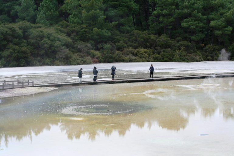 อุทยานความร้อนใต้พิภพ Wai-O-Tapu หนึ่งในสถานที่อัศจรรย์ เหนือจริง ของโลก 20 - Wai-O-Tapu