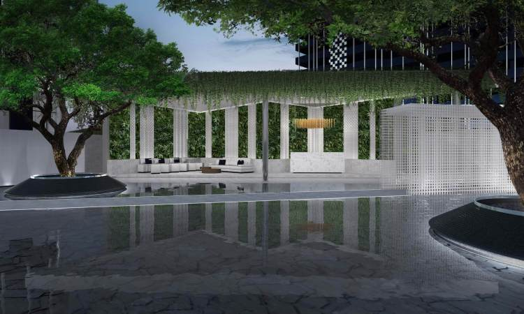 Outdoor Lobby 750x450 Life Ladprao   คอนโดวัยสร้างธุรกิจ ดีไซน์ฟังก์ชั่นเหมาะแก่ผู้อยู่อาศัยที่ต้องการให้ธุรกิจเติบโตอย่างรวดเร็ว