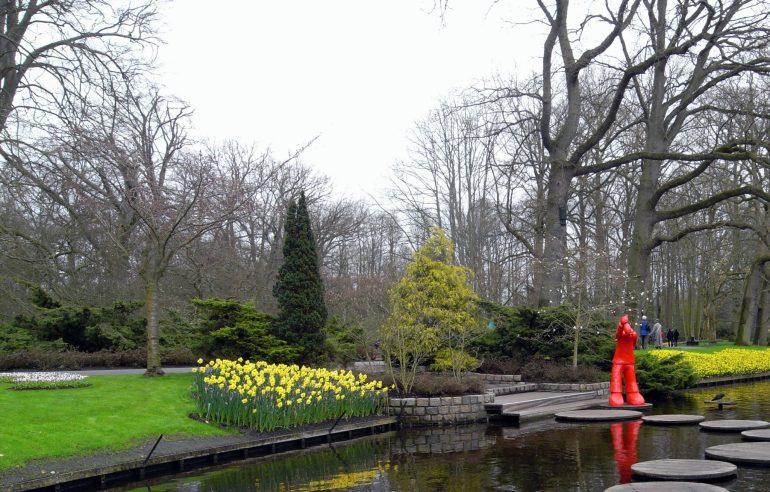 สวนเคอเคนฮอฟ (Keukenhof) เนเธอร์แลนด์ สวนดอกไม้หลายล้านดอก ที่ใหญ่ที่สุดในโลก 33 - ทิวลิป