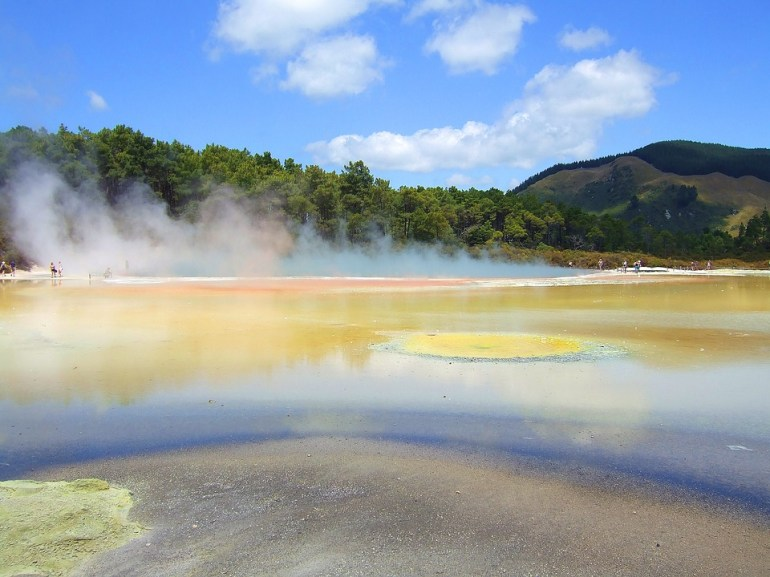 อุทยานความร้อนใต้พิภพ Wai-O-Tapu หนึ่งในสถานที่อัศจรรย์ เหนือจริง ของโลก 14 - Wai-O-Tapu