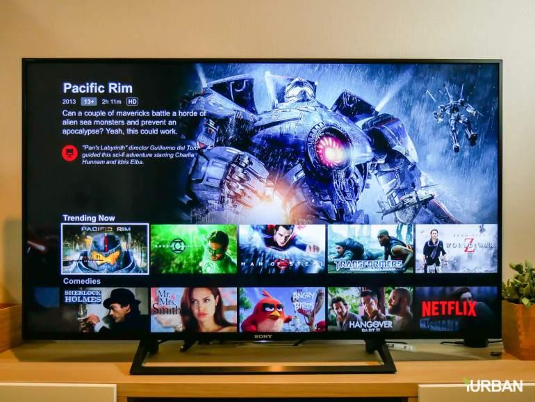 รีวิว SONY Android TV รุ่น X8000E งบ 26,990 แต่สเปค 4K HDR เชื่อมโลก Social กับทีวีอย่างสมบูรณ์แบบ 37 - Android