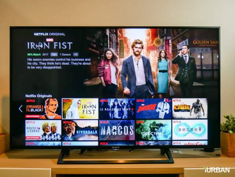รีวิว SONY Android TV รุ่น X8000E งบ 26,990 แต่สเปค 4K HDR เชื่อมโลก Social กับทีวีอย่างสมบูรณ์แบบ 36 - Android