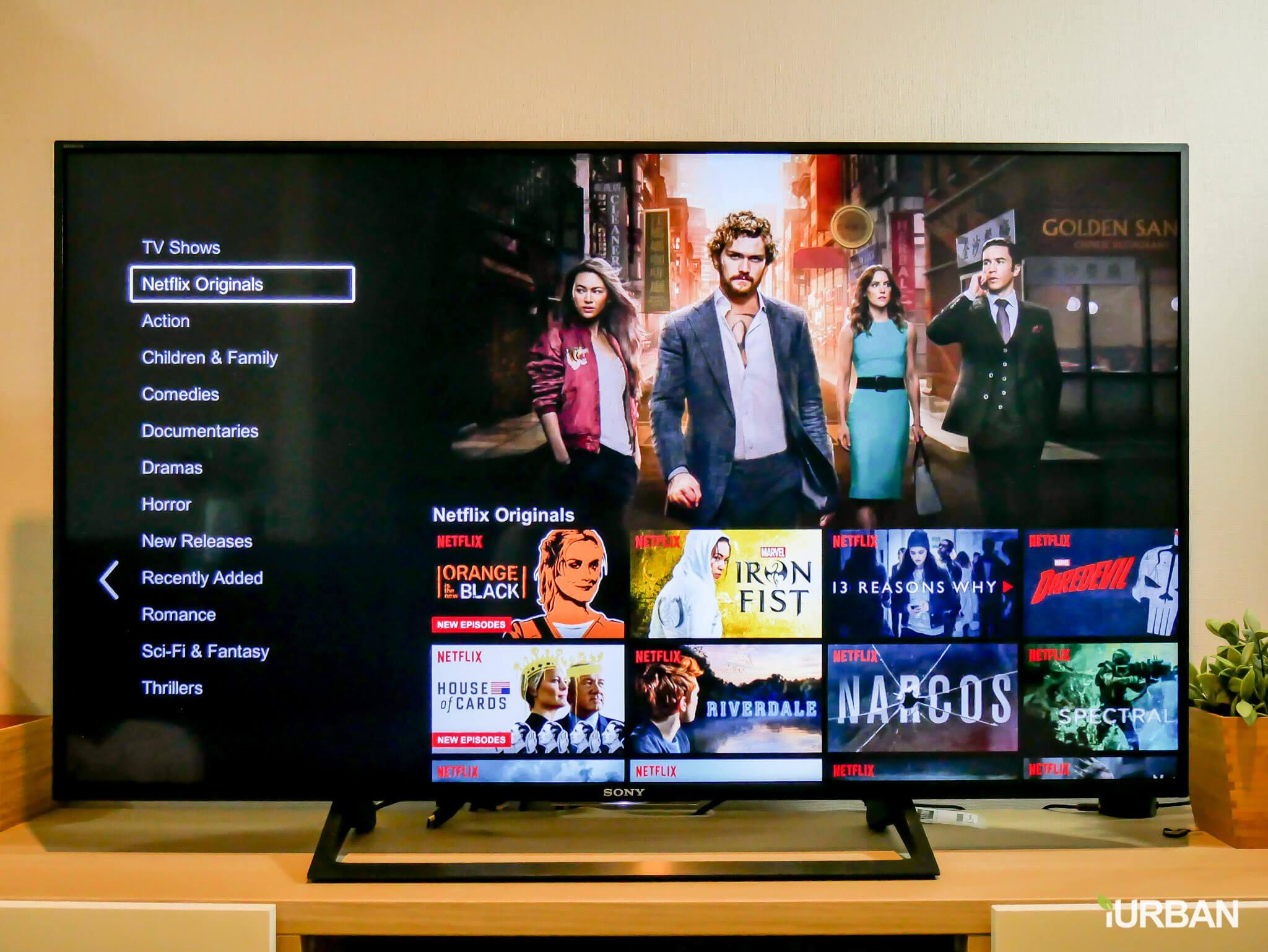 รีวิว SONY Android TV รุ่น X8000E งบ 26,990 แต่สเปค 4K HDR เชื่อมโลก Social กับทีวีอย่างสมบูรณ์แบบ 52 - Android