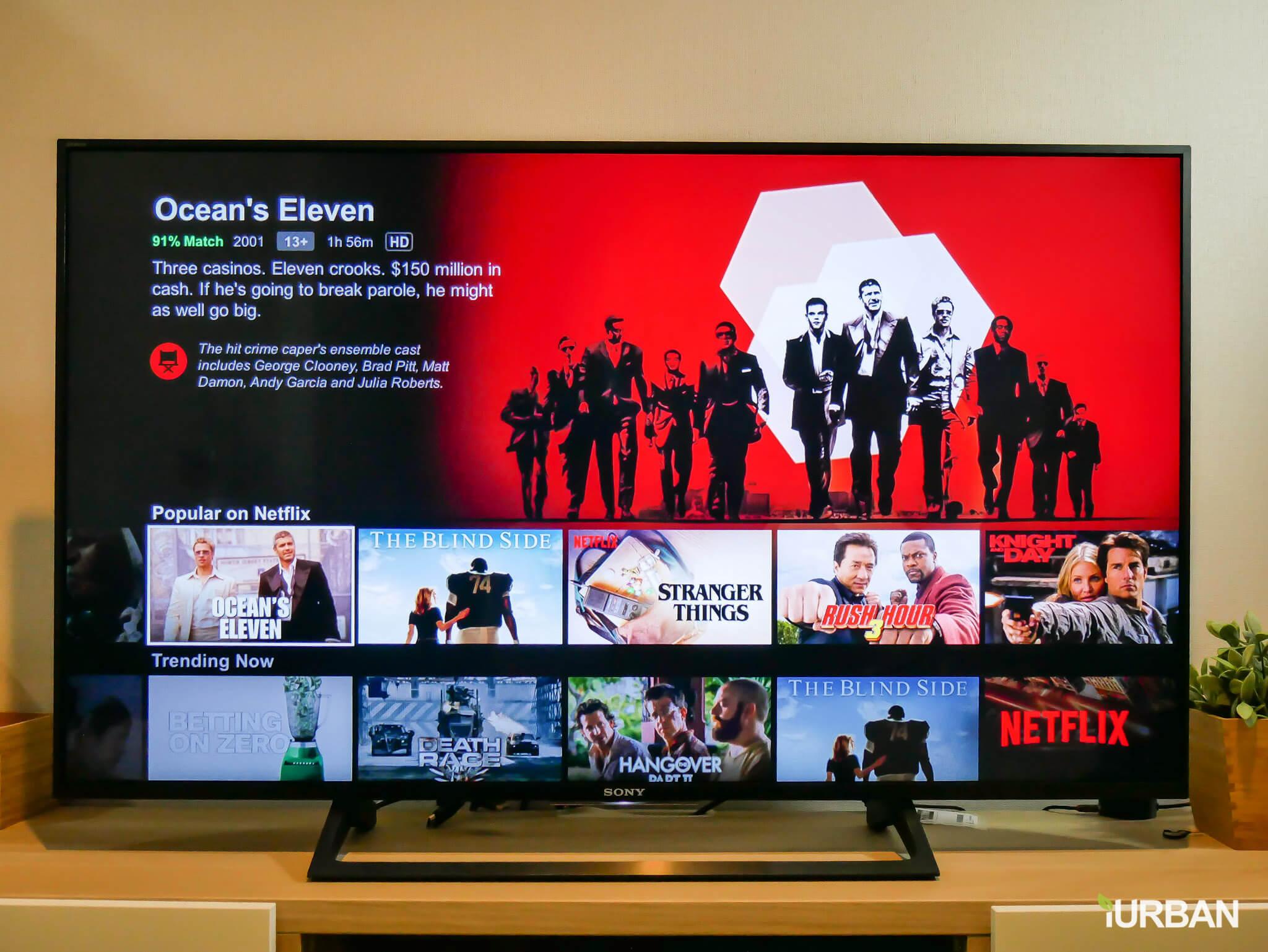รีวิว SONY Android TV รุ่น X8000E งบ 26,990 แต่สเปค 4K HDR เชื่อมโลก Social กับทีวีอย่างสมบูรณ์แบบ 54 - Android