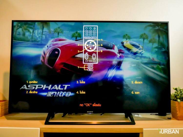 รีวิว SONY Android TV รุ่น X8000E งบ 26,990 แต่สเปค 4K HDR เชื่อมโลก Social กับทีวีอย่างสมบูรณ์แบบ 69 - Android