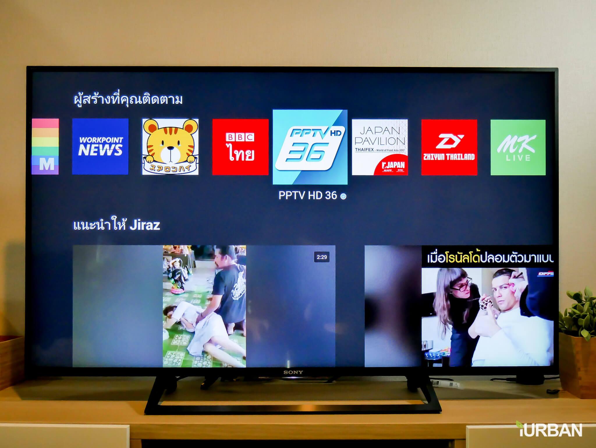 %name รีวิว SONY Android TV รุ่น X8000E งบ 26,990 แต่สเปค 4K HDR เชื่อมโลก Social กับทีวีอย่างสมบูรณ์แบบ