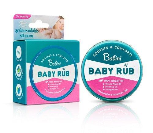 ดูแลลูกน้อยด้วย Babini Baby Rub (เบบินี่ เบบี้รับ) 13 -