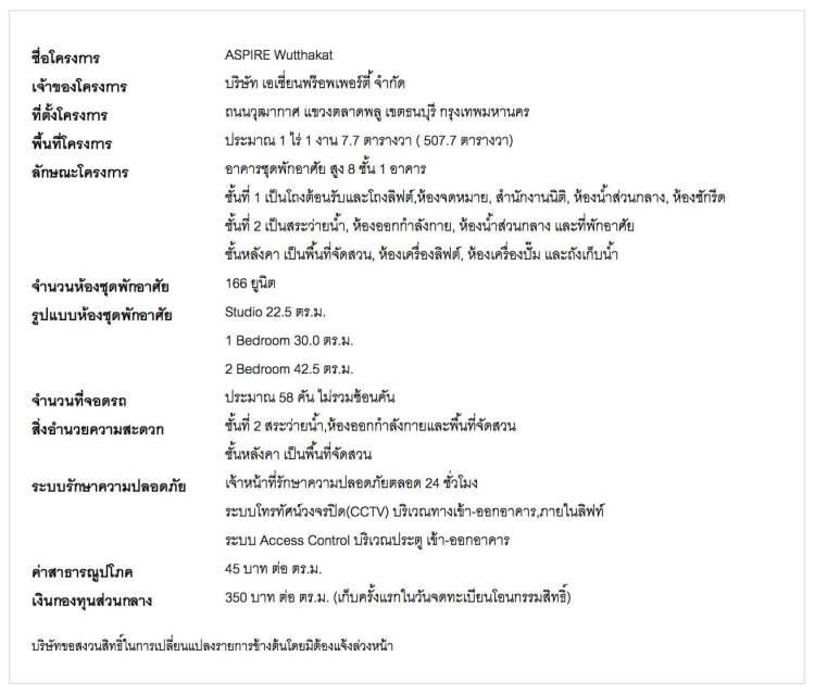 wutthakat condo details 750x639 บีทีเอสสายสีลมยังเจอ!! คอนโดแนว BTS สายตรงถึงสยามในงบ 2 ล้าน