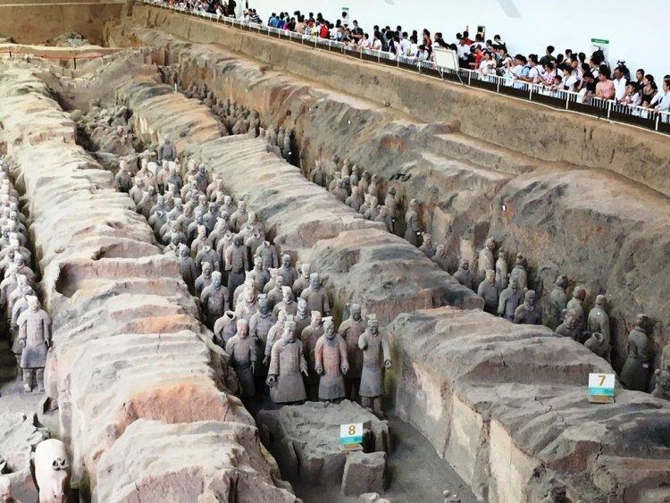 110 750x563 สุสานกองทัพทหารดินเผา สุสานที่ใหญ่ที่สุดในจีน สิ่งมหัศจรรย์ของโลกลำดับที่ 8