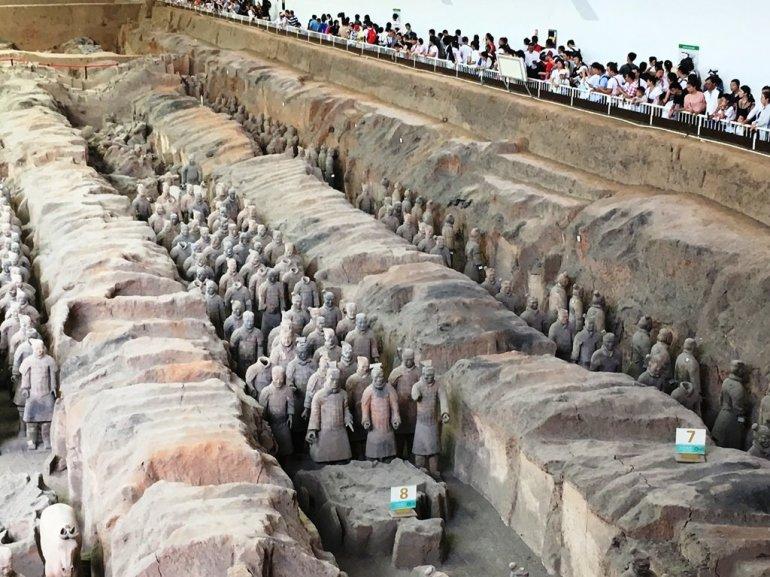 สุสานกองทัพทหารดินเผา สุสานที่ใหญ่ที่สุดในจีน สิ่งมหัศจรรย์ของโลกลำดับที่ 8 20 - จักรพรรดิจิ๋นซี