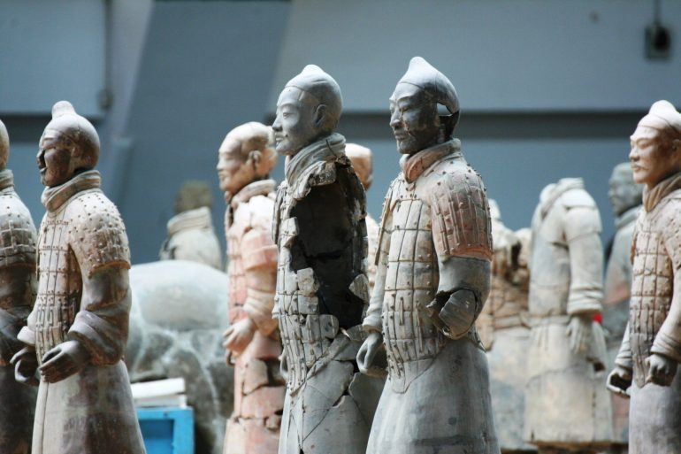 สุสานกองทัพทหารดินเผา สุสานที่ใหญ่ที่สุดในจีน สิ่งมหัศจรรย์ของโลกลำดับที่ 8 33 - จักรพรรดิจิ๋นซี
