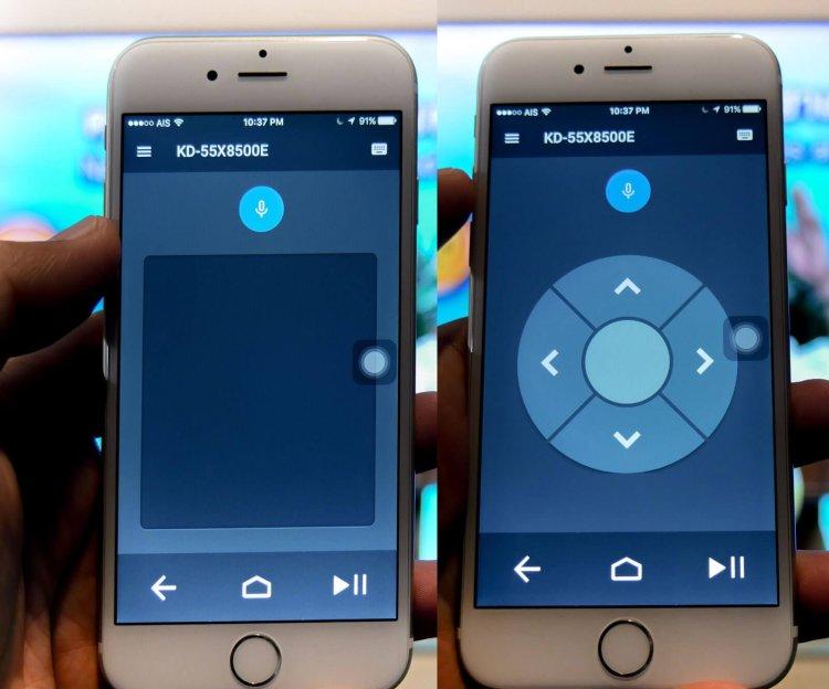 app remote 1 750x624 SONY X8500E 4K HDR Android TV นวัตกรรมที่จะเปลี่ยนชีวิตกับทีวี ให้ไม่เหมือนเดิมอีกต่อไป