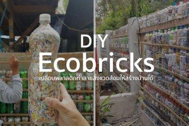 D.I.Y Ecobricks เมื่อขวดน้ำพลาสติกเป็นได้มากกว่าที่คิด 21 - GREENERY