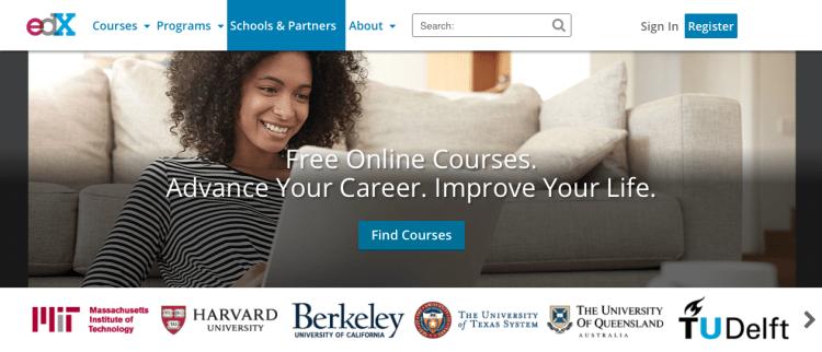 edX 750x322 ทำความรู้จัก MOOC (มู้ก) หลักสูตรเรียนฟรีออนไลน์ เรียนที่ไหนก็ได้แค่มีอินเตอร์เน็ต