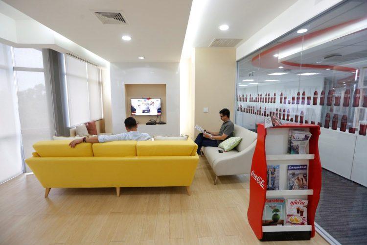 ออฟฟิศโคคา-โคลา ออกแบบเพิ่มความสุขสดชื่น  ส่งเสริมแรงบันดาลใจพนักงาน 21 - Coca-Cola