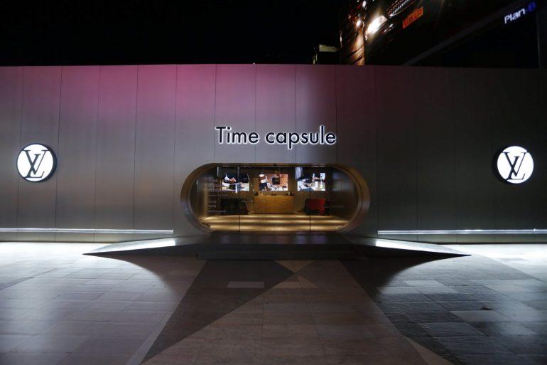 หลุยส์ วิตตอง จัดแสดงนิทรรศการ TIME CAPSULE ยิ่งใหญ่ที่สุดแห่งปี 21 -