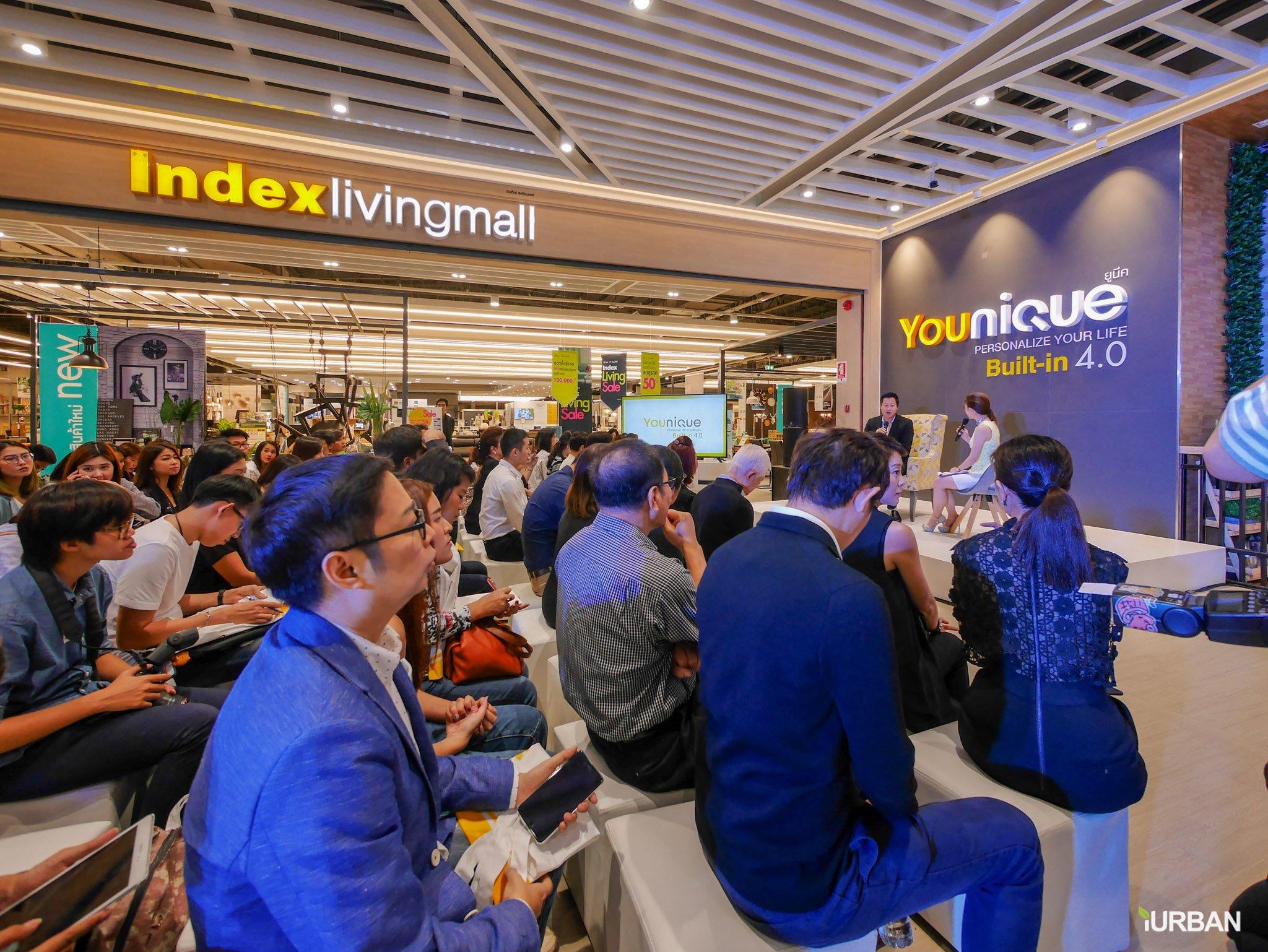 Younique เทคโนโลยีบิวท์อิน 4.0 ครั้งแรกในไทย มีเป็นล้านดีไซน์ รู้ราคาใน 1 นาที โดย Index Livingmall 48 - Built-in