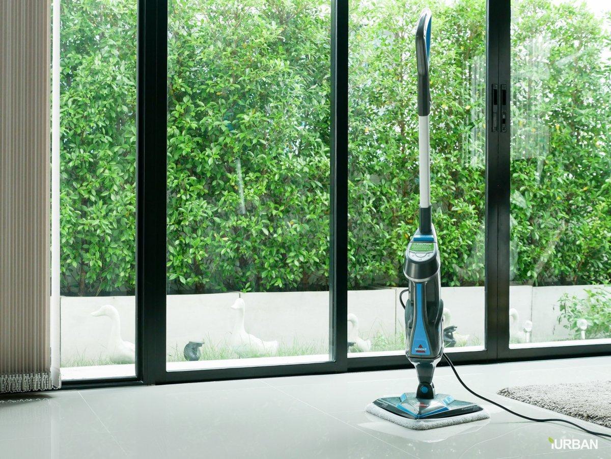 บ้านสะอาดโดยไม่ใช้สารเคมีด้วย Bissell PowerFresh Lift-Off ยับยั้งเชื้อโรคเพียงใช้น้ำเปล่า 14 - Bissell