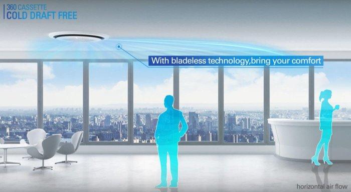 แอร์ Samsung 360 Cassette ดีไซน์นวัตกรรมใหม่ แอร์ฝังเพดานทรงกลมตัวแรกของโลก เย็นทั่ว-หัวไม่หนาว 26 - Premium