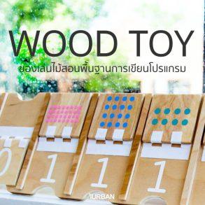 Wood Toy ของเล่นไม้สอนพื้นฐานการเขียนโปรแกรม พัฒนาลูกน้อยสู่ยุคดิจิตอล 17 - Kid