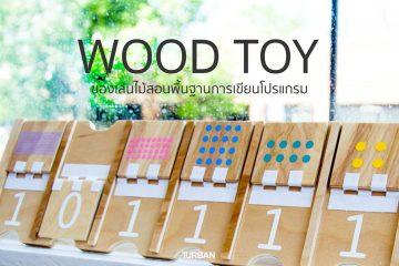 Wood Toy ของเล่นไม้สอนพื้นฐานการเขียนโปรแกรม พัฒนาลูกน้อยสู่ยุคดิจิตอล 2 - wood
