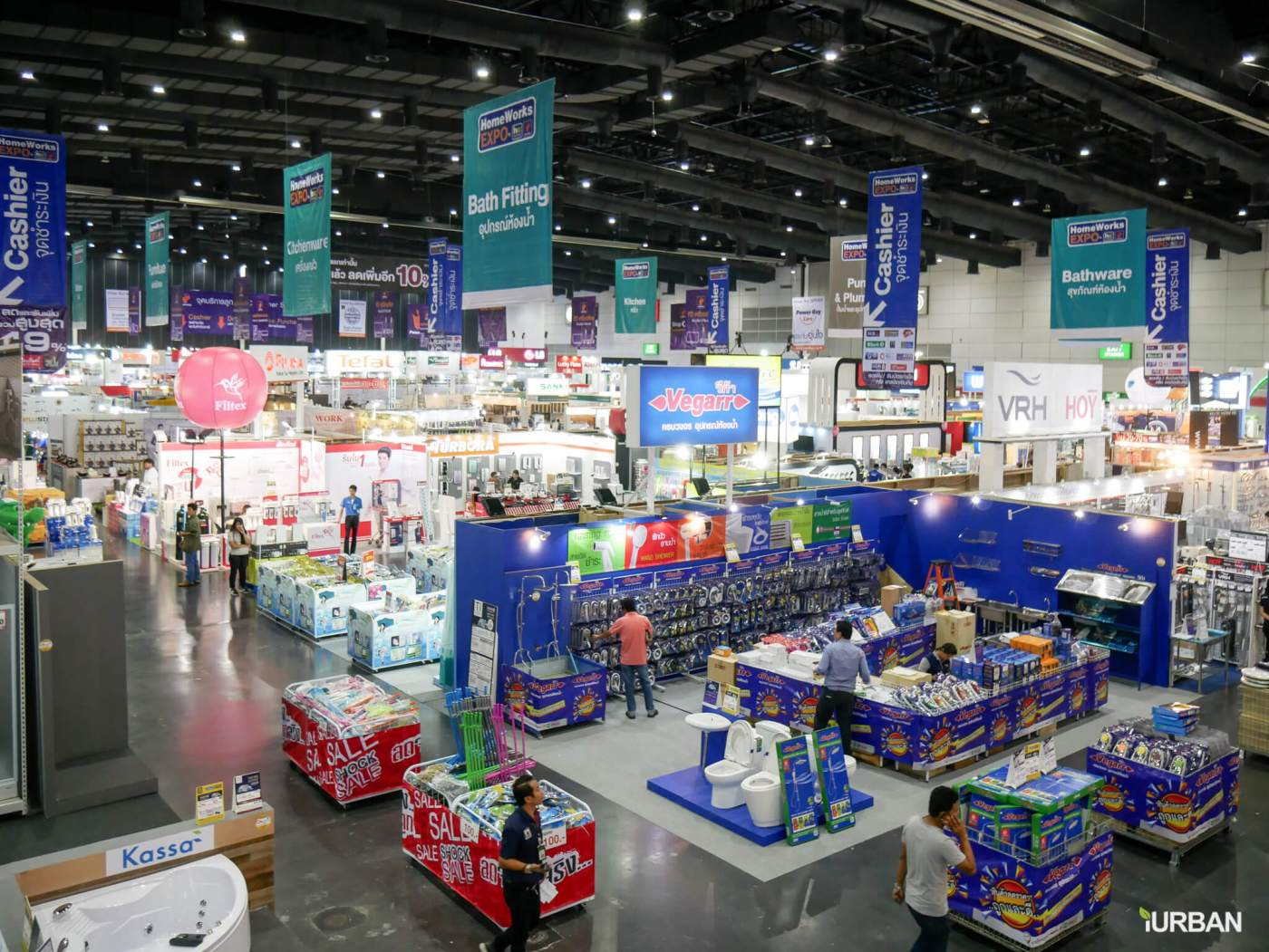 """HomeWork Expo 2017 อีเวนท์ลดราคา """"สินค้าเกี่ยวกับบ้าน"""" สูงสุดถึง 80% จาก 500 แบรนด์ดัง 13 - Exhibition"""