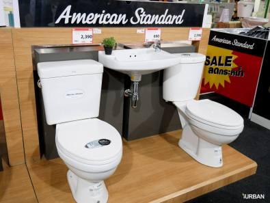 สุขภัณฑ์ American Standard เมื่อซื้อ 2 ชิ้น จาก 4,390 บาทลดเหลือ 2,590 บาท (2 ชิ้นซ้าย)