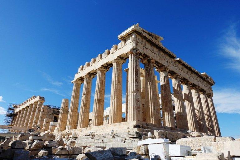 """อารยธรรมยุโรปทั้งหมด เริ่มต้นที่นี่.. """"อะโครโปลิสแห่งเอเธนส์"""" (Acropolis of Athens) 33 - วิหารพาร์เธนอน"""