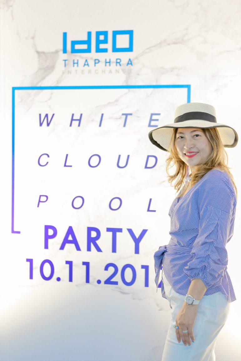 'White Cloud Pool Party' ชวน Blogger ชมโครงการ IDEO THA PHRA INTERCHANGE ปาร์ตี้วิว Rooftop 19 - Ananda Development (อนันดา ดีเวลลอปเม้นท์)