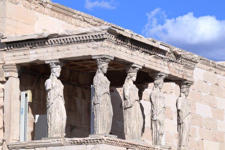 """อารยธรรมยุโรปทั้งหมด เริ่มต้นที่นี่.. """"อะโครโปลิสแห่งเอเธนส์"""" (Acropolis of Athens) 35 - วิหารพาร์เธนอน"""