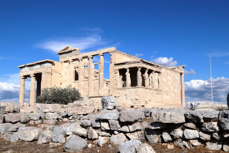 """อารยธรรมยุโรปทั้งหมด เริ่มต้นที่นี่.. """"อะโครโปลิสแห่งเอเธนส์"""" (Acropolis of Athens) 34 - วิหารพาร์เธนอน"""