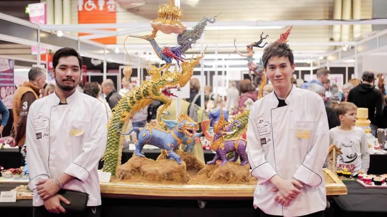 น่าชม Lin Thailand Sweet Creation 2017 เค้กแชมป์โลกฝีมือคนไทย และงานครีเอทีฟของหวานใหญ่ที่สุดในอาเซียน 19 - art exhibition