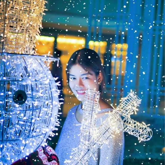 """10 เทคนิคถ่ายรูป ไฟปีใหม่-ไฟคริสต์มาส ด้วย """"กล้องมือถือ"""" ยังไงให้ปัง 22 - AP (Thailand) - เอพี (ไทยแลนด์)"""