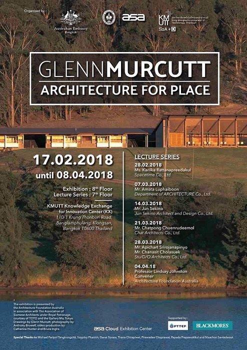 ส.สถาปนิกสยามฯ เตรียมจัดงาน 'Glenn Murcutt : Architecture For Place' 13 -