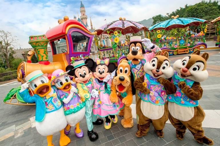 ฮ่องกงดิสนีย์แลนด์ ชวนเที่ยวเทศกาลเฉลิมฉลองฤดูใบไม้ผลิ Disney Friends Springtime Carnival 18 - TRAVEL