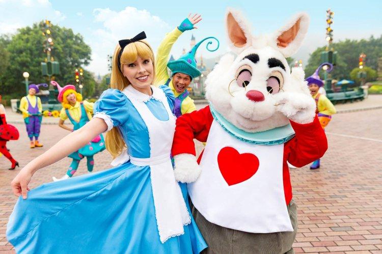 ฮ่องกงดิสนีย์แลนด์ ชวนเที่ยวเทศกาลเฉลิมฉลองฤดูใบไม้ผลิ Disney Friends Springtime Carnival 4 - Disney