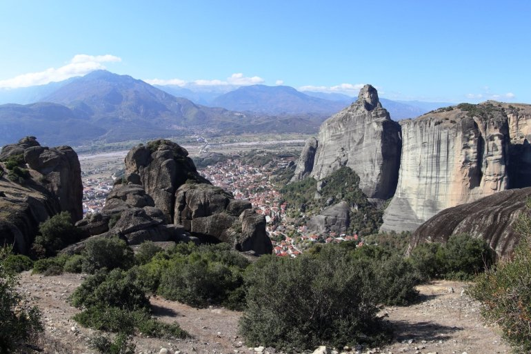 Meteora.... อารามลอยฟ้า สถานที่ต้นแบบอาณาจักร The Mountain and The Vale ในซี่รี่ย์ Game of Thrones 36 - Meteora