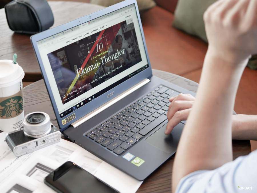 รีวิวโน๊ตบุ๊ค ACER SWIFT 5 เจนใหม่ 2018 แรงแต่เบาเว่อร์ Intel Core i7 หนักแค่ 0.97Kg 25 - Acer
