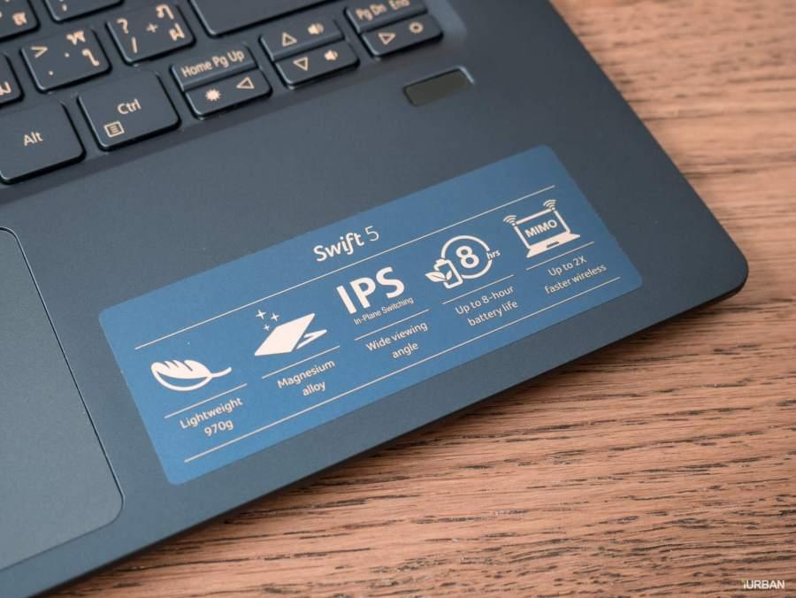 รีวิวโน๊ตบุ๊ค ACER SWIFT 5 เจนใหม่ 2018 แรงแต่เบาเว่อร์ Intel Core i7 หนักแค่ 0.97Kg 32 - Acer