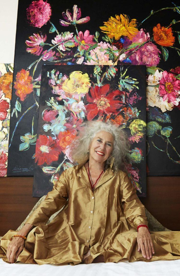 """นิทรรศการ """"Arianna Caroli : Artist in Residence"""" ถ่ายทอดพลังแห่งดอกไม้งามผ่านงานศิลปะ 7-18 ก.พ. นี้ ที่เซ็นทรัล เอ็มบาสซี 18 - Arianna Caroli"""