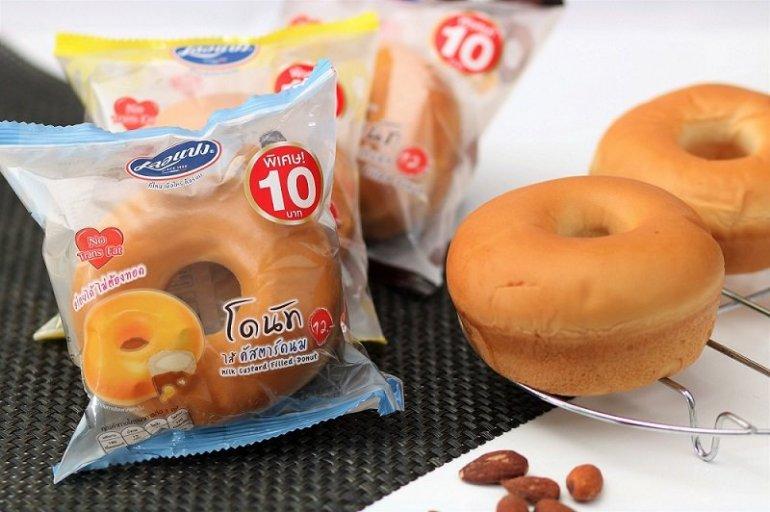 เลอแปงจัดโปรลดราคาขนมปังโดนัทเหลือเพียง 10 บาท 13 -