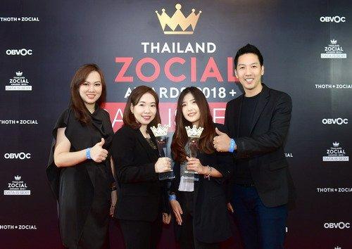 ไทยสมายล์คว้ารางวัล Best Social Media Campaign จากเวที Thailand Zocial Awards 2018 13 -