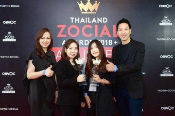 ไทยสมายล์คว้ารางวัล Best Social Media Campaign จากเวที Thailand Zocial Awards 2018