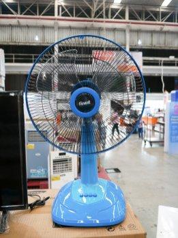 พัดลมสไลด์ FINEXT 16 นิ้ว รุ่น DSF-9161 สีฟ้า