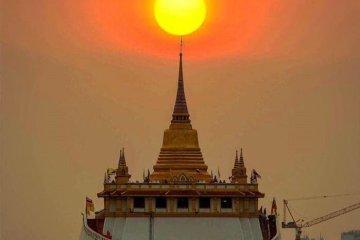 ททท.เชิญชวนเที่ยวงาน สงกรานต์วัดภูเขาทอง มหาสมัยสูตร 205 ปี ศรีมหาโพธิ์ แห่งเดียวในไทย 10 -
